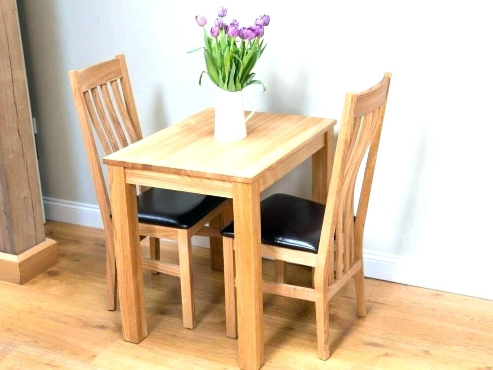 2019 Latest Two Person Dining Table Sets
