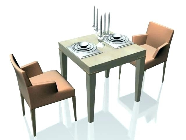 Two Seat Dining Tables Within Widely Used Two Seater Dining Table Chair Attractive 2 Seat And Chairs (View 16 of 20)