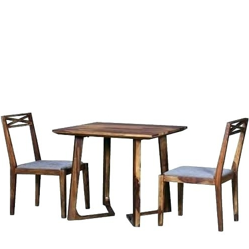 Two Seater Table And Chairs Inspiring 2 Dining Tables And Chairs For Throughout Best And Newest Two Seat Dining Tables (View 19 of 20)