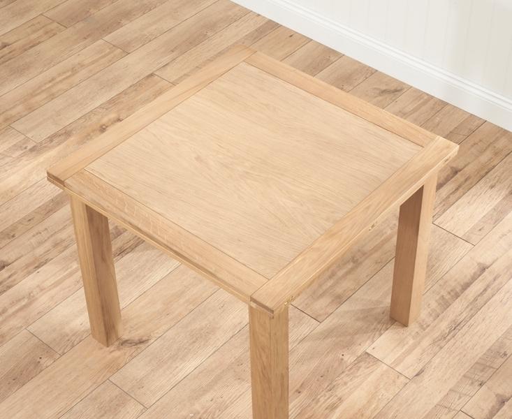Udine Solid Oak 90Cm Flip Top Extending Dining Set With 4 Minerva Regarding Popular Flip Top Oak Dining Tables (Gallery 13 of 20)