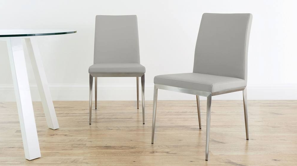 Uk Delivery Regarding Well Known Grey Dining Chairs (Gallery 4 of 20)