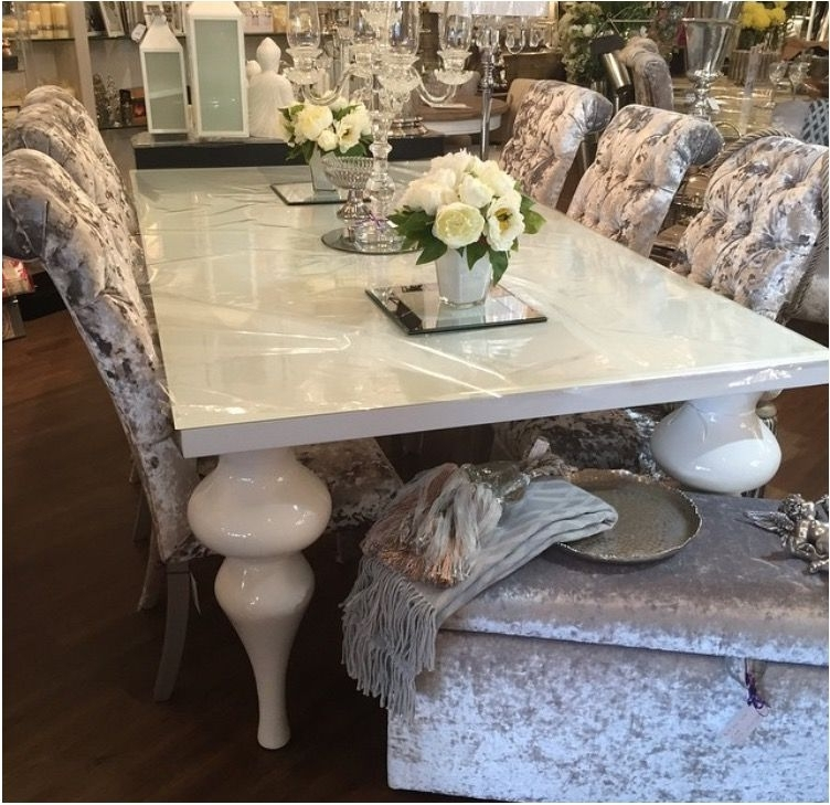 Unbelievable White High Gloss Dining Table – Extra Long White Dining Pertaining To Most Popular High Gloss Dining Room Furniture (View 19 of 20)