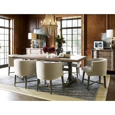Universal Furniture Authenticity 7 Piece Dining Set (Gallery 4 of 20)