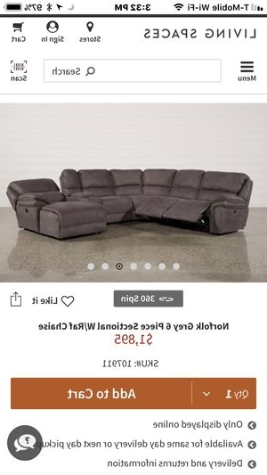 Used Sectional For Sale In Columbus, Oh – Offerup Intended For Well Known Norfolk Grey 6 Piece Sectionals With Raf Chaise (Gallery 14 of 15)