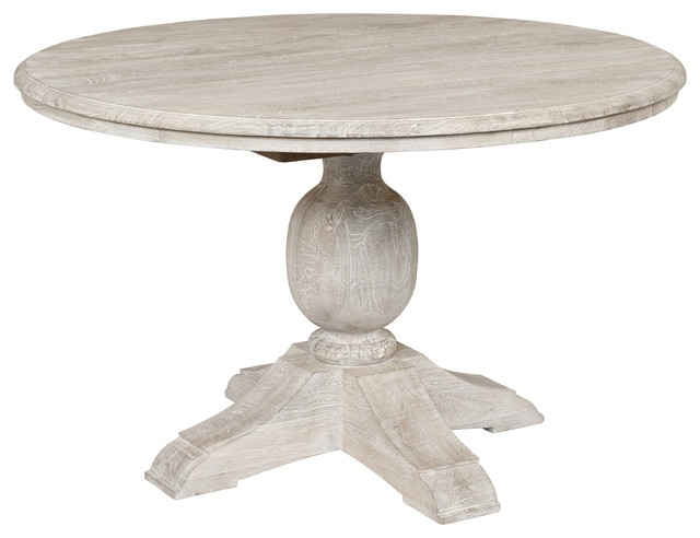 Valencia 60 Inch Round Dining Tables Intended For Most Current Beaumont Wooden Table – Farmhouse – Dining Tables Kosas (View 15 of 20)
