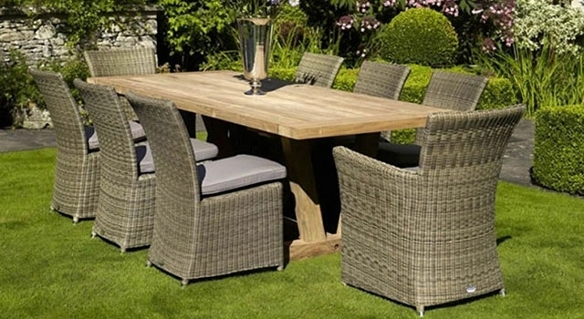 Van Hage Within Garden Dining Tables And Chairs (View 12 of 20)
