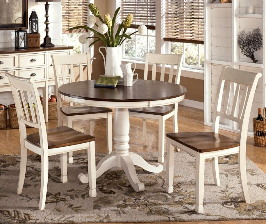 Varied Round Dining Table Sets And Their Kinds: Simple Dining Set Throughout Preferred Kitchen Dining Sets (Gallery 1 of 20)