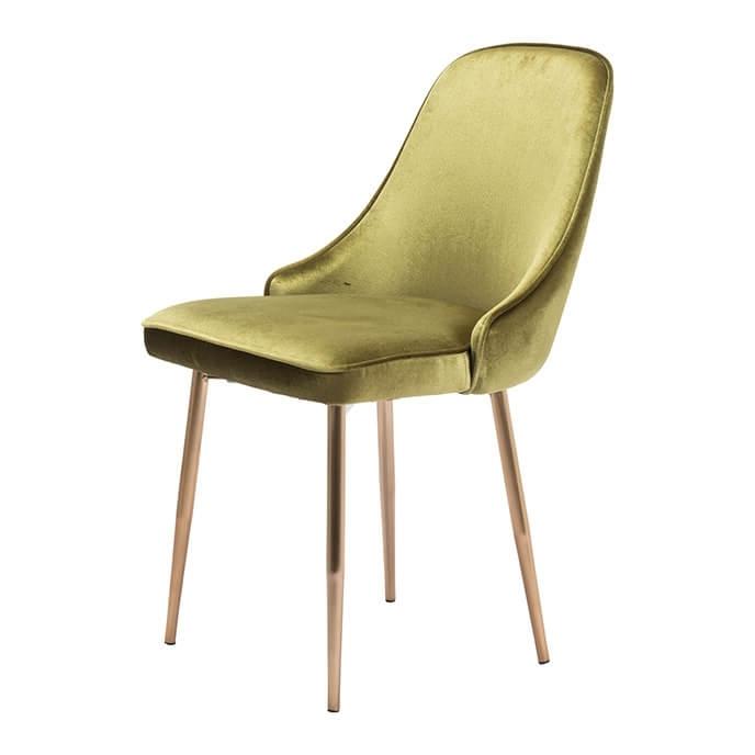 Velvet Dining Chairs Regarding Trendy Merritt Modern Dining Chair Green Velvet (Gallery 13 of 20)