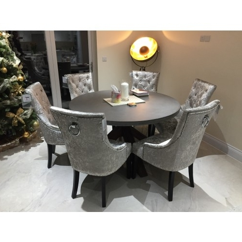 Velvet Dining Chairs Within Best And Newest Ascot Dining Chair Mink Velvet – Atlantic Shopping (View 14 of 20)