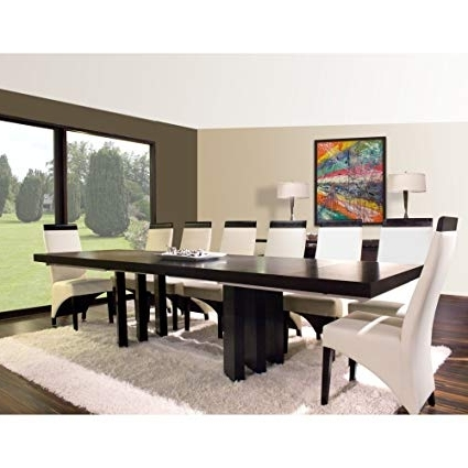 Verona Dining Tables Inside Latest Amazon – Sharelle Furnishings Verona Wenge Dining Table With (Gallery 9 of 20)