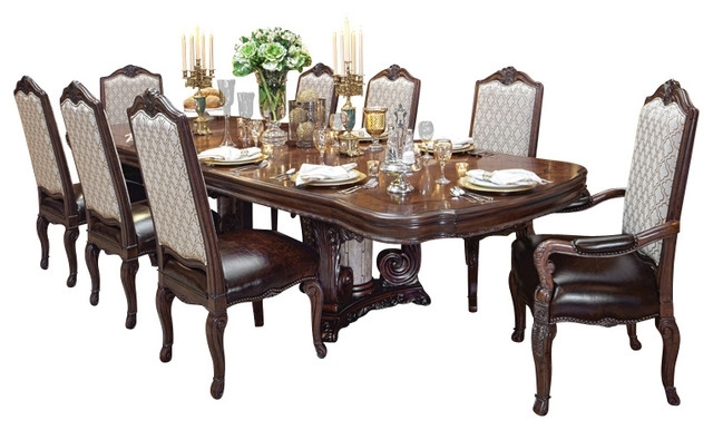Victoria Palace 7 Piece Dining Table Set – Victorian – Dining Sets With Regard To Most Popular Dining Sets (View 16 of 20)