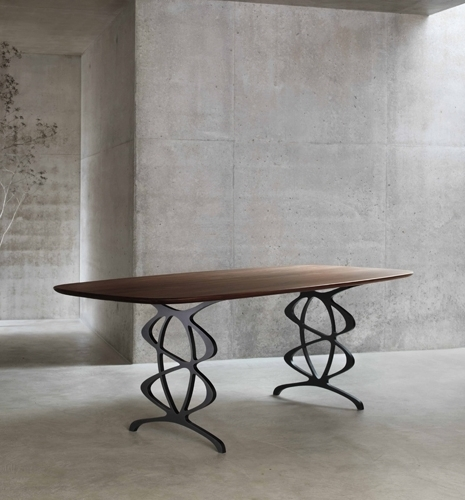 Vienna Dining Tables Within Popular The Vienna – Modern Dining Table – Tom Faulkner (Gallery 3 of 20)