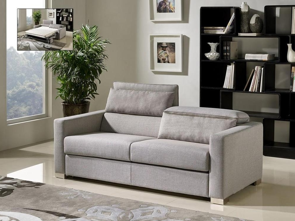 Vig Modern Divani Casa Norfolk Grey Fabric Sofa Bed (View 5 of 15)