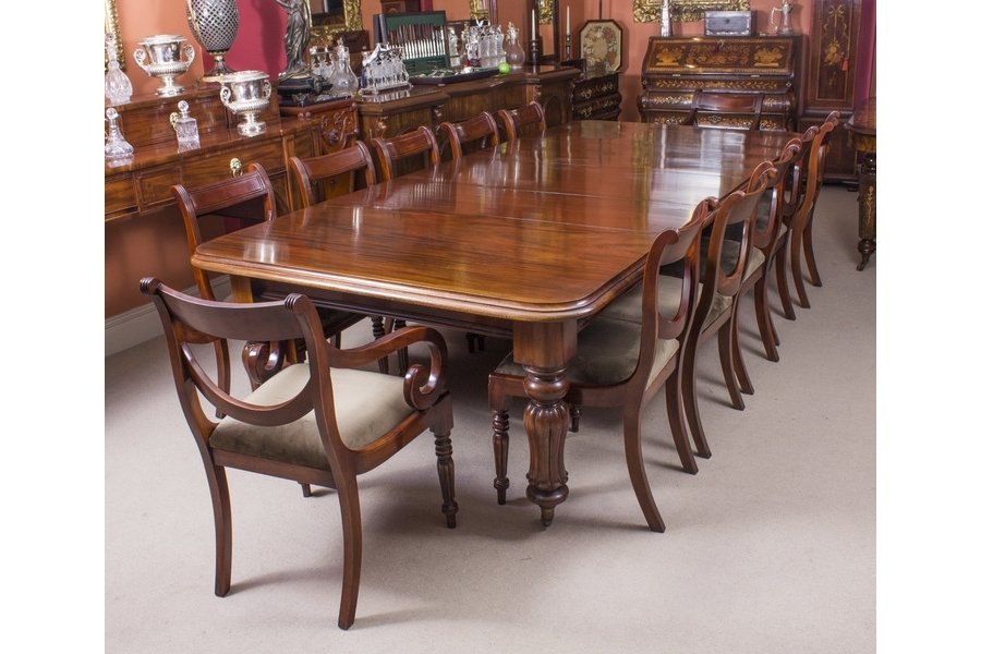 Vinterior Intended For Mahogany Dining Tables And 4 Chairs (Gallery 6 of 20)