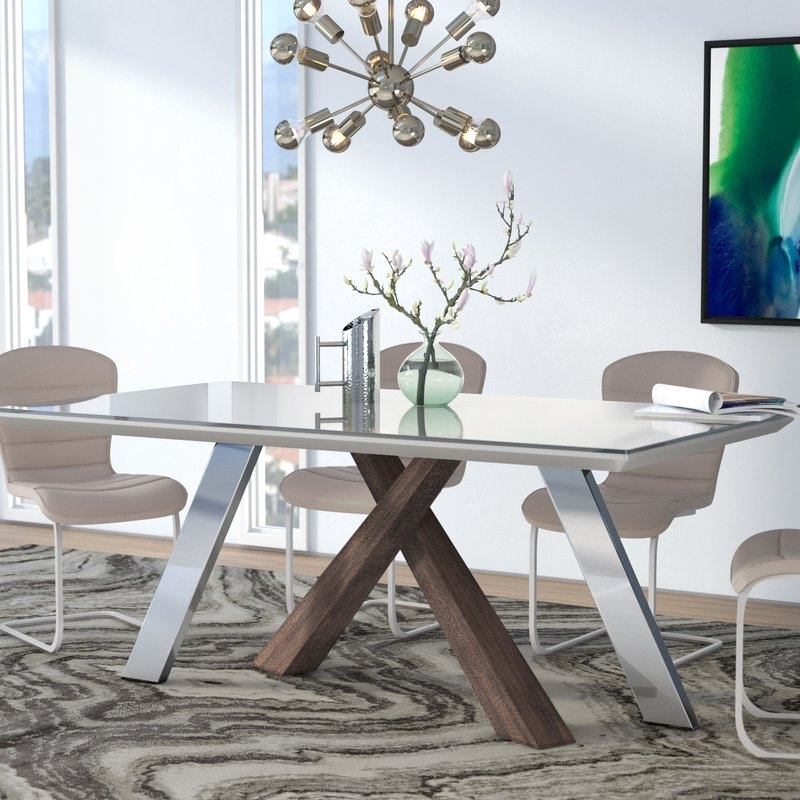Wade Logan Link Dining Table & Reviews (View 17 of 20)