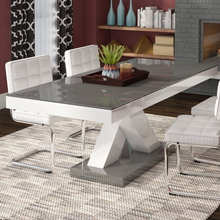 Wade Logan Walkersville Leaf Dining Table & Reviews (View 6 of 20)