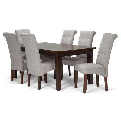 Walden 7 Piece Extension Dining Sets With Favorite Rectangle – 6 People – Gray – Dining Room Sets – Kitchen & Dining (View 14 of 20)