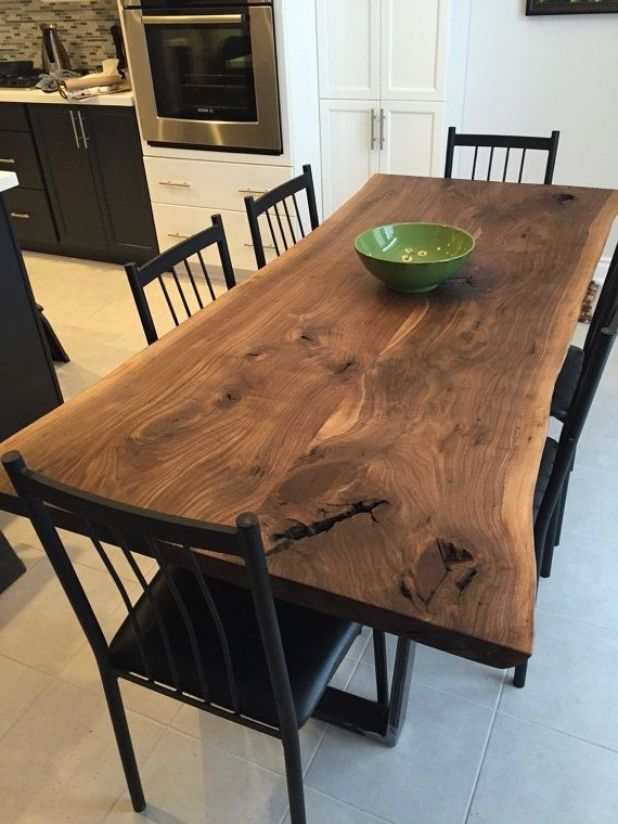 Walnut Dining Tables Intended For Favorite Luxedge Furniture Co (View 16 of 20)