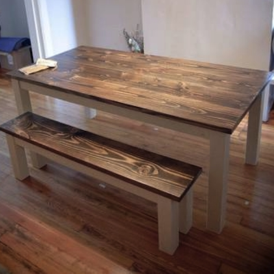 Walnut Dining Tables With Regard To Recent Reclaimed Walnut Dining Table – Northern Rustic (View 17 of 20)
