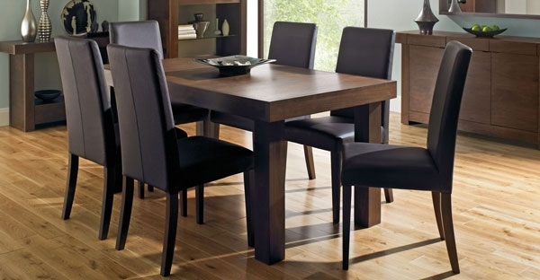 Walnut Furniture: Bedroom, Dining & Living Collection – Cfs Uk With Regard To Well Known Walnut Dining Tables And Chairs (View 17 of 20)