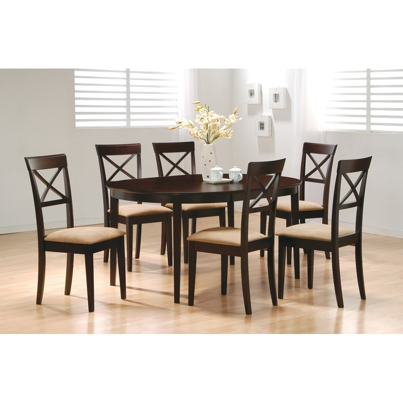 Featured Photo of Crawford 7 Piece Rectangle Dining Sets