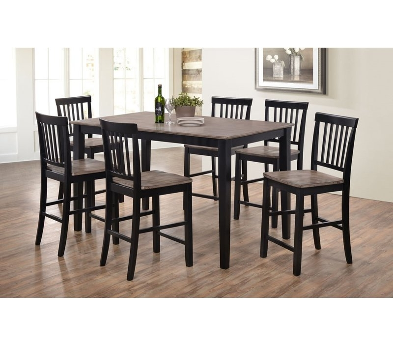 Wayfair For Best And Newest Laurent 7 Piece Rectangle Dining Sets With Wood And Host Chairs (View 18 of 20)