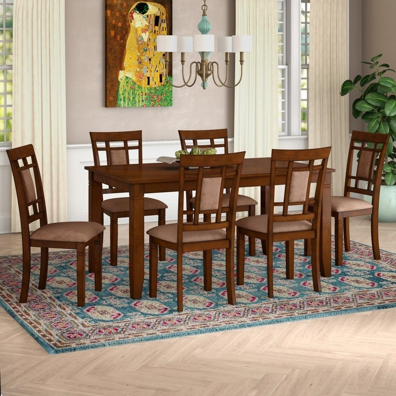 Wayfair For Norwood 7 Piece Rectangle Extension Dining Sets (View 20 of 20)