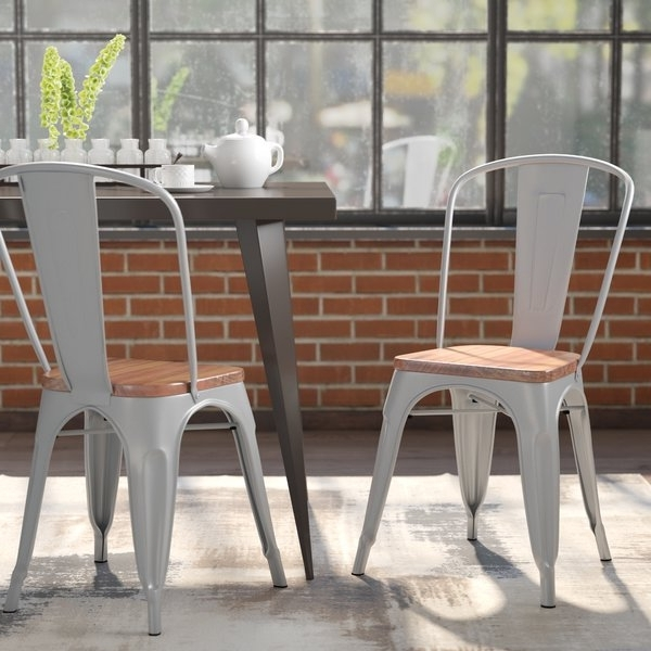 Wayfair In Caira Black 7 Piece Dining Sets With Arm Chairs & Diamond Back Chairs (View 18 of 20)