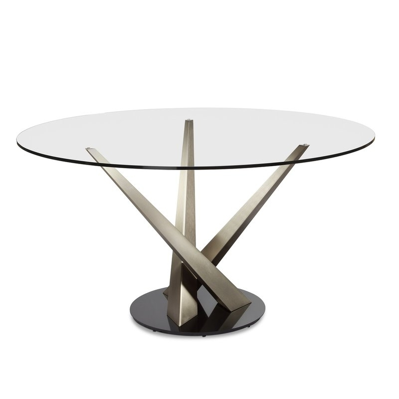 Wayfair Inside Crystal Dining Tables (View 18 of 20)