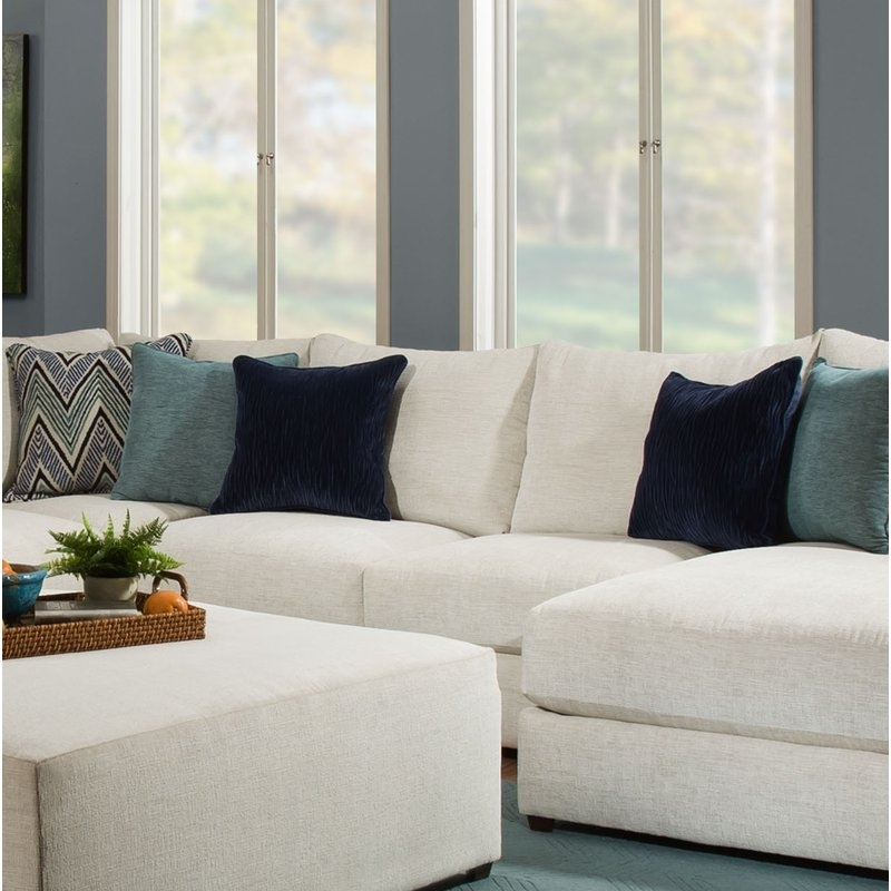 Wayfair Throughout Aidan 4 Piece Sectionals (View 15 of 15)