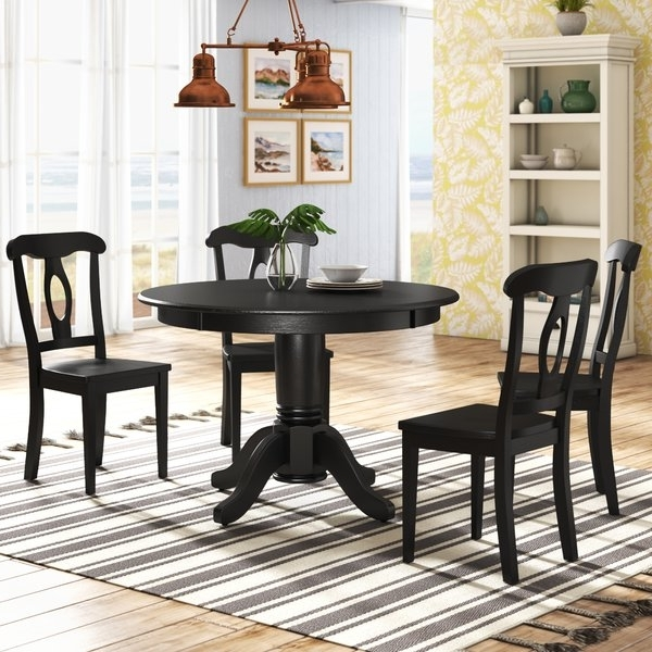 Wayfair Throughout Wyatt 6 Piece Dining Sets With Celler Teal Chairs (View 15 of 20)
