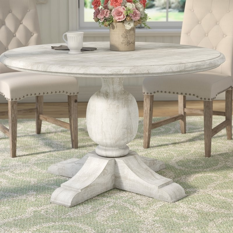 Wayfair With Most Current Valencia 5 Piece 60 Inch Round Dining Sets (View 17 of 20)