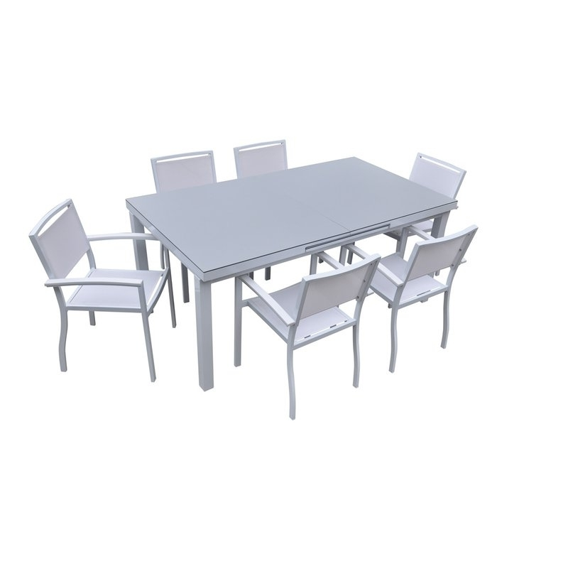 Featured Photo of Outdoor Extendable Dining Tables