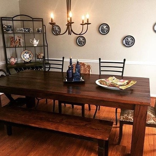 We Spy Our Rio Table In The Dining Room Of @lmacedo311 Share Your For Fashionable Rio Dining Tables (View 18 of 20)