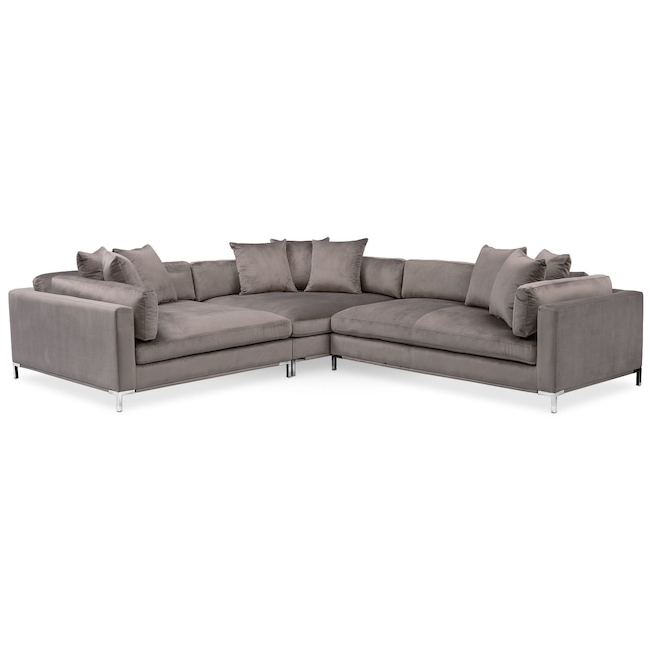 Well Known 3 Piece Sectional – Locsbyhelenelorasa Within Malbry Point 3 Piece Sectionals With Raf Chaise (View 12 of 15)