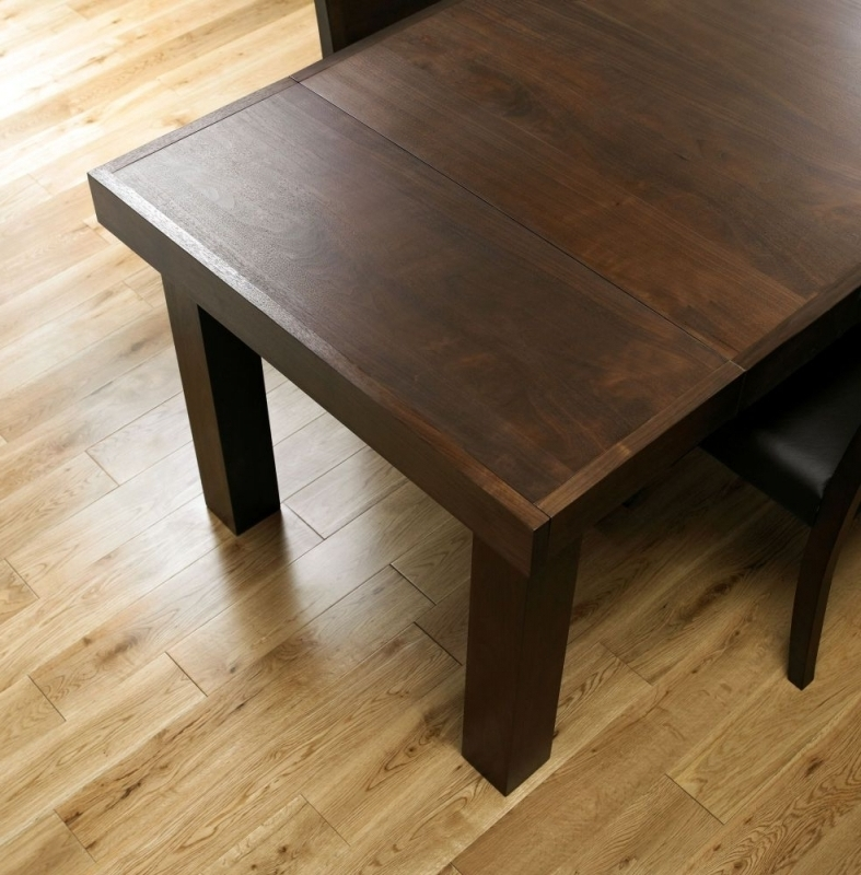 Well Known 4 Seater Extendable Dining Tables In Buy Bentley Designs Akita Walnut Rectangular Extending Dining Table (View 20 of 20)