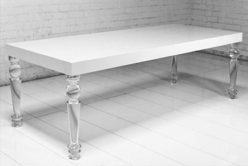 Well Known Acrylic Dining Tables Within Quality Design Acrylic Dining Table Referencesjayne Atkinson Homes (View 18 of 20)
