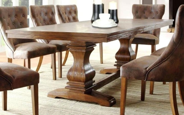 Well Known Agreeable Modern Rectangular Dining Table Pedestal Modrest Crawford With Regard To Crawford Rectangle Dining Tables (View 18 of 20)