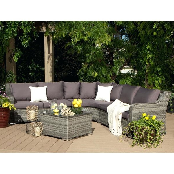 Well Known Alder 4 Piece Sectionals Regarding Clay Alder Home Stony Brook 4 Piece Outdoor Sectional Cheap (View 13 of 15)