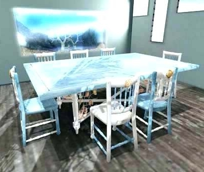 Well Known Amazing Home Exquisite Beach Dining Table In Trestle Tables The Room With Coastal Dining Tables (View 13 of 20)