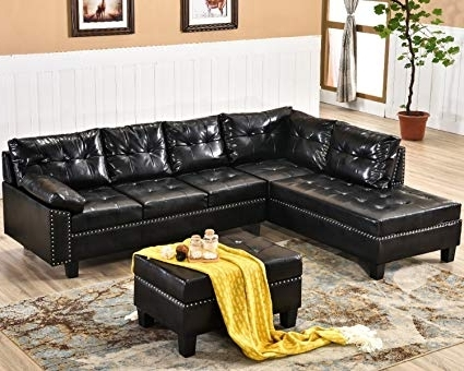 Well Known Amazon: Harper & Bright Designs Sectional Sofa Set With Chaise For Harper Down 3 Piece Sectionals (View 9 of 15)