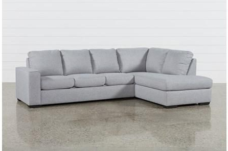 Well Known Avery 2 Piece Sectionals With Laf Armless Chaise Regarding Lucy Grey 2 Piece Sectional W/laf Chaise In  (View 14 of 15)
