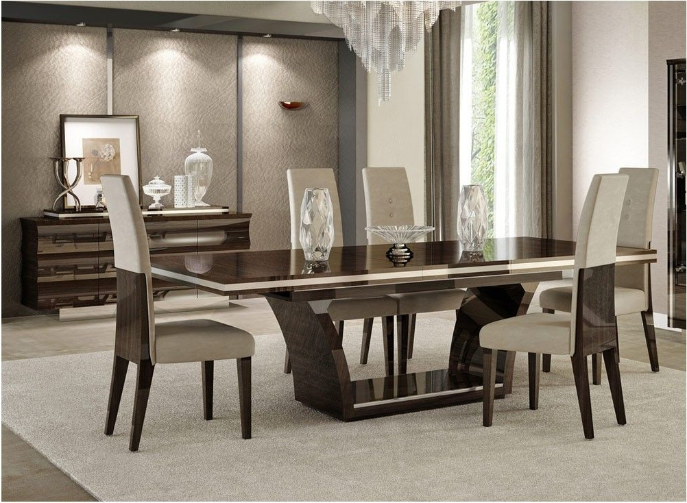 Well Known Best Giorgio Italian Modern Dining Table Set Contemporary Dining With Regard To Contemporary Dining Sets (View 18 of 20)