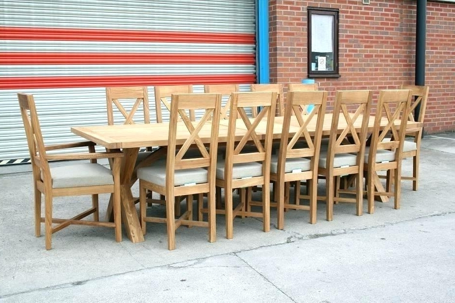 Well Known Big Dining Tables – Bunu For Big Dining Tables For Sale (View 13 of 20)