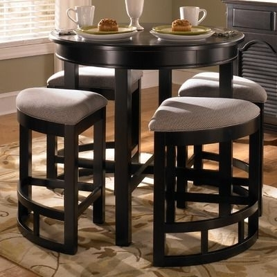 Well Known Broyhill Mirren Pointe Round 5 Piece Counter Pub Table Set (View 14 of 20)