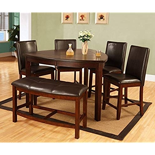 Well Known Carly 3 Piece Triangle Dining Sets In Triangle Dining Table: Amazon (View 18 of 20)
