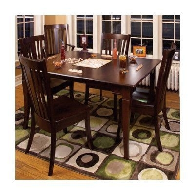 Well Known Chapleau Ii 7 Piece Extension Dining Table Sets Inside Conrad Grebel Newport Dining Table Table Finish: Cherry – Aged Brick (View 19 of 20)