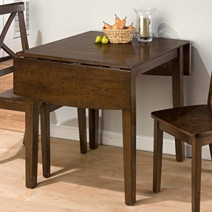 Well Known Cheap Drop Leaf Dining Tables With Regard To Amazon – Jofran Double Drop Leaf Dining Table In Taylor Brown (View 19 of 20)