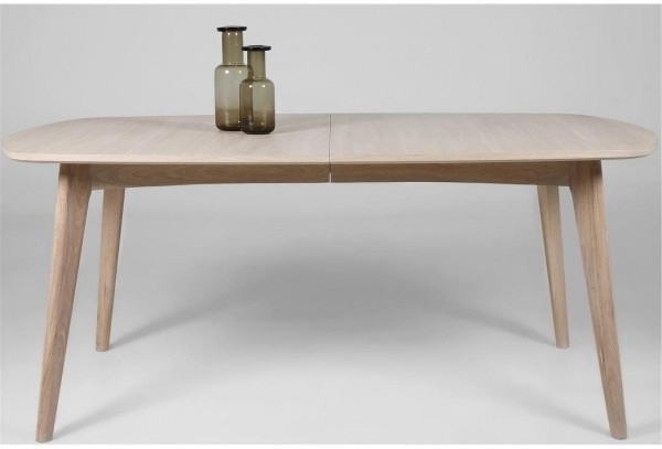 Well Known Cheap Extendable Dining Tables In Marte Modern Extending Dining Table Oak (View 19 of 20)