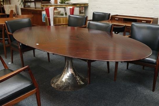 Well Known Chichester Dining Tables With A Julian Chichester Dakota Dining Table, 21St Century, Elliptical (View 20 of 20)